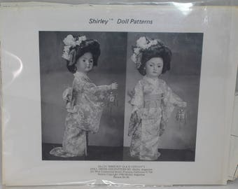Shirley Augustine Doll Clothing Pattern Shizuko (S & 1329) 19 SA-123