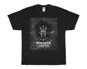 Wakanda Forever Cotton T-shirt