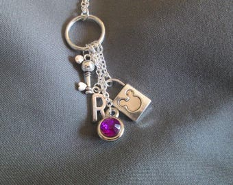 Mickey Mouse Lover Charm Necklace