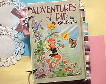 The Adventures of Pip Vintage Ephemera Journal