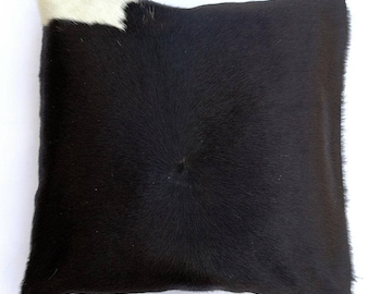 Natural Cowhide Luxurious Hair On Cushion/ Pillow Cover (15''x 15'') A10