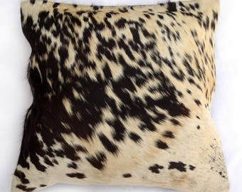 Natural Cowhide Luxurious Hair On Cushion/ Pillow Cover (15''x 15'') A30