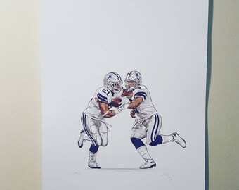 Dak to Zeke! Print
