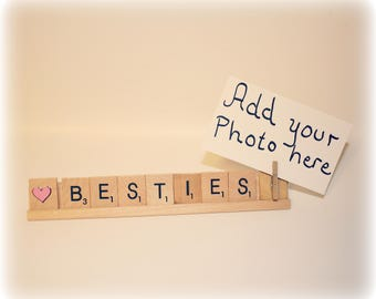 Besties, Bestie, Best Friends, Best Friends Gift, Best Friend Frame, Best Friends Birthday, Best Friends Photo, Sister Gift, Sister, BFF,