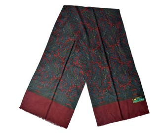 Vintage Original Matt Luxor men scarf paisley