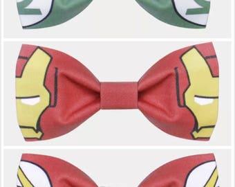 Iron Man Super Hero Bow tie