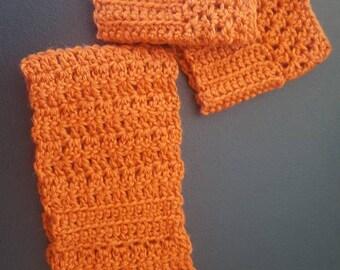 Pumpkin Wool Set