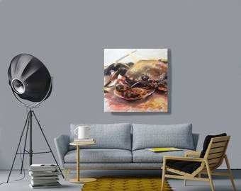 Crab Study limited edition print
