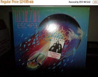 Save 30% Today Vintage 1981 LP Record Journey Escape Near Mint Condition In Shrink w/Hype Sticker 7584