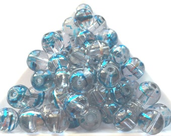 lovely bead sparkling turquoise crystal color