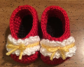 Minnie Mouse Inspired Ruffle Ballet Flats