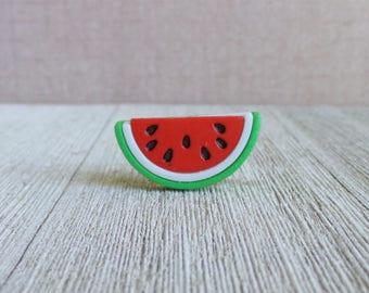 Watermelon - Fruit - Summer - Melon - Lapel Pin