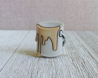 Paint - Bucket of Paint - Painter - Remodel - House - Lapel Pin
