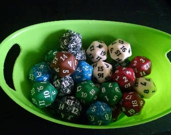 Unusual Dice - Magic the Gathering Spindown d20