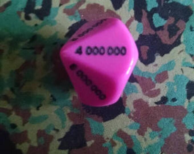 Unusual Dice - d0000000