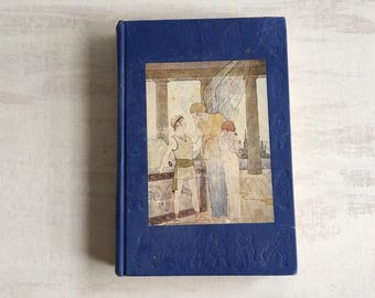 1906 Vintage Book, Legends Every Child Should Know, Book Decor