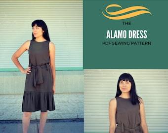 The Alamo Dress PDF sewing pattern