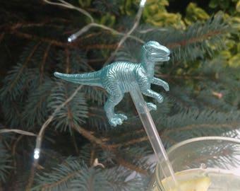 10 Cocktail stirrers dinosaur drink stirrers wedding swizzle sticks dinosaur cocktail party sticks