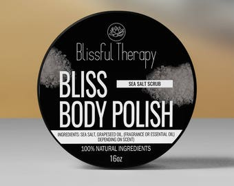 Blissful Body Polish-Sea Salt