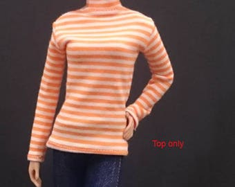 Top for Barbie,Muse barbie,Tall barbie, FR, Silkstone -No. 180115-3