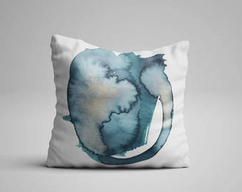 20x20 Accent Pillow, Colorful Pillow Abstract, Pillow Colorful Home Decor, 16x16 Accent Pillow, Decorative Pillows