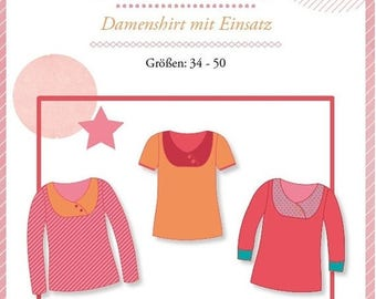 """Summer Sale Mialuna pattern Damenshirt """"Lady Carolyn"""""""