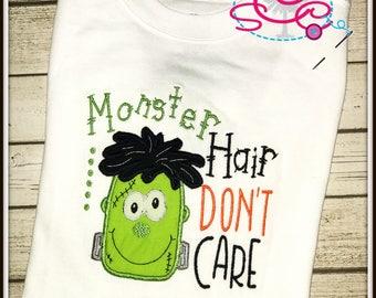 Monster Hair Don't Care Shirt/Bodysuit