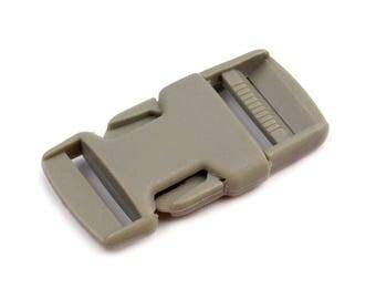 4 clip strap 25 mm grey