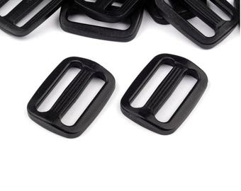 4 Plastic Tri-Glide Slide Adjuster black