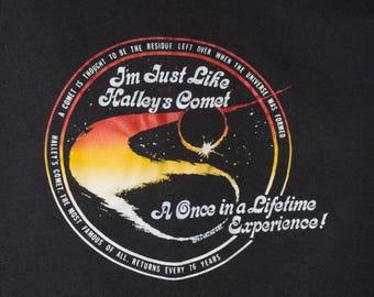 80s HALLEY'S COMET shirt - vintage 80s