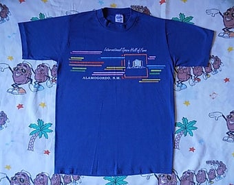 Vintage 80's International Space Hall of Fame T shirt, size Small super soft New Mexico