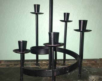 Mid century candelabra danish tapered smaller size.