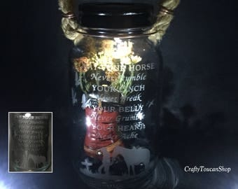 Cemetery Decoration, Cowboy Memorial  Custom Memorial, Western Grave Light, Solar Lantern, Personalization, Remembrance, Loss Of Brother