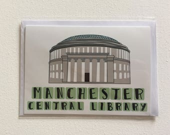 Manchester Central Library Card