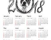 Custom 2018 Calendar