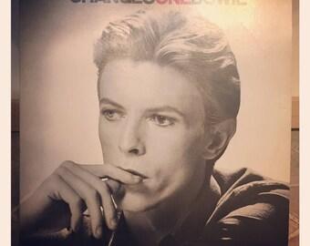 1976 Changes One Bowie Lp Vinyl Album, David Bowie Changes One, Vintage Bowie, David Bowie Lp, David Bowie Album, Bowie Vinyl Changes