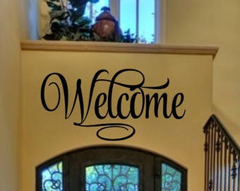 Welcome Sign - Welcome 4 Welcome Decal