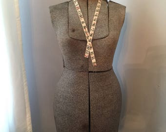 Vintage Adjustable Mannequin Dress Form