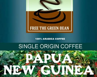Papua New Guinea fresh roasted, whole bean coffee 12oz coffee beans, coffee shop, online coffee, gourmet coffee, roasted coffee beans