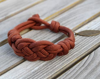 Braided Knot Paracord Bracelet