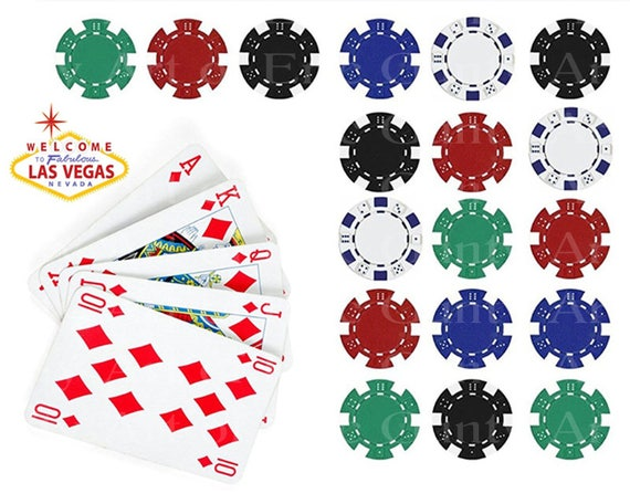 Casino Las Vegas Poker Party Birthday - Edible Cake and Cupcake Topper For Birthday's and Parties! - D22896