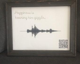 Soundwave memory canvas