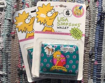VTG 1990 Lisa Simpson PVC Wallet