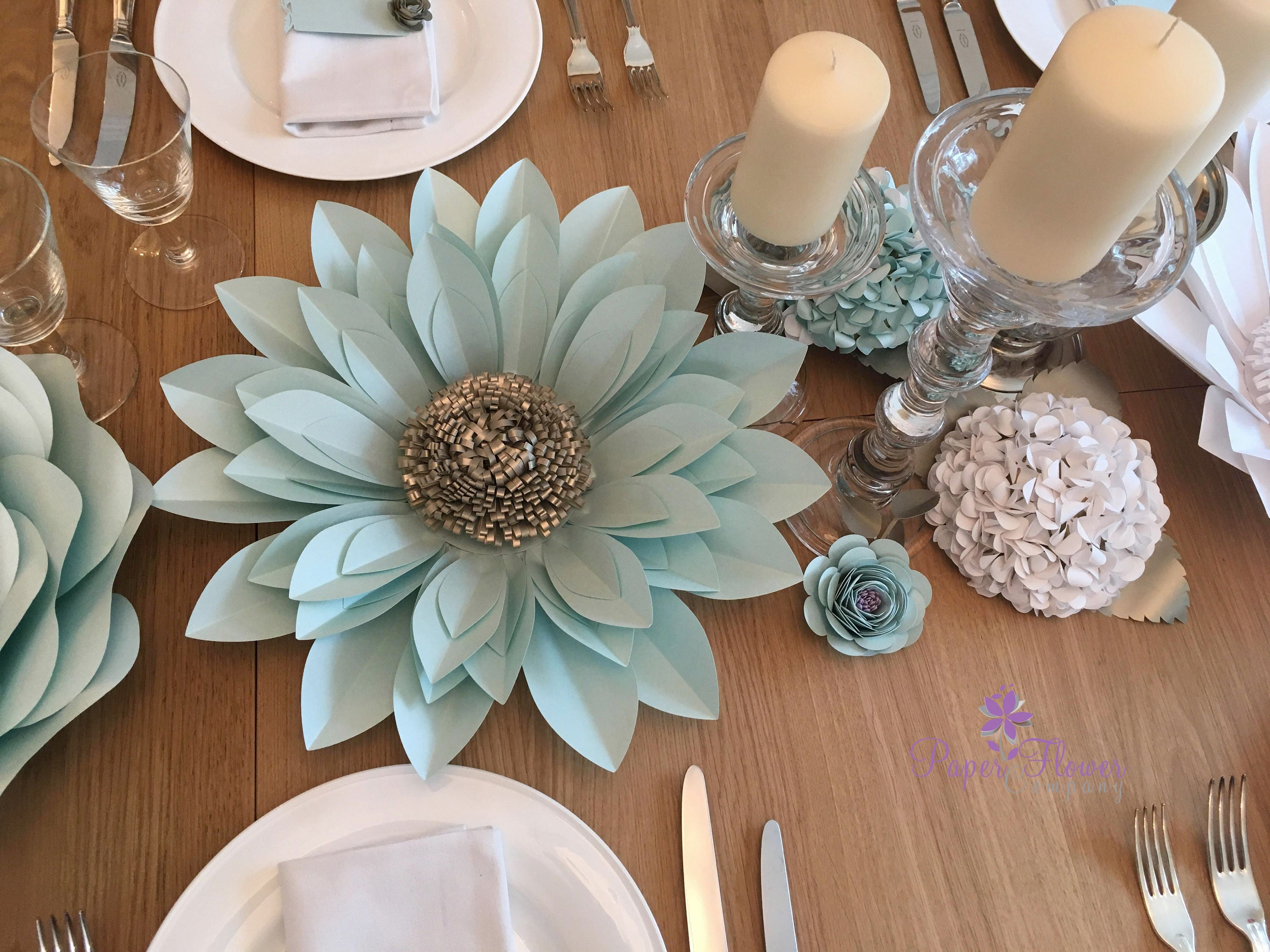 3d paper flower wall dcor backdrop or table centrepiece flower amipublicfo Images