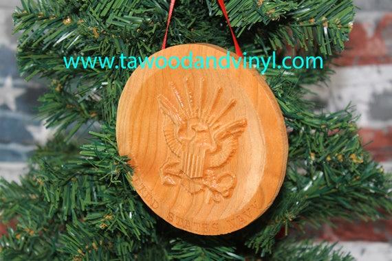 US NAVY Ornament -Navy Ornaments - Navy Gifts - Navy Decor - Military Christmas Ornaments - Mom Christmas Ornament - Military Family