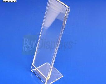 2x6 Acrylic Slanted Photo Booth Frames, Made in USA, MaximusVu™ Series
