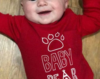 Baby Bear - Vinyl T Shirt or Bodysuit