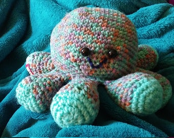 Ollie the crocheted Octopus