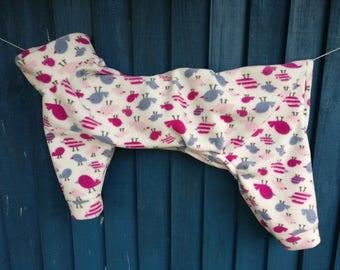 SALE - Greyhound pyjamas Tweet Tweet