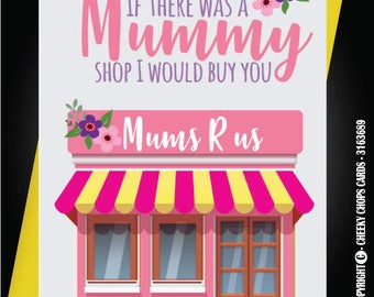 Mother Mum Mummy Birthday Greetings Card Funny Cheeky Rude C37 Mum Shop